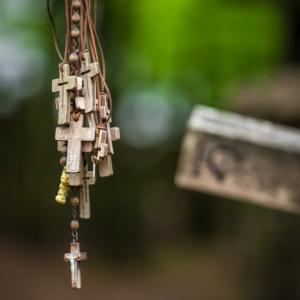 Św. Góra Grabarka, krzyż prawosławny, prawosławie na Podlasiu,Maciej Nowakowski