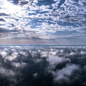 w chmurach, Podlasie z lotu ptaka, Podlasie z drona, Poland in the clouds, Maciej Nowakowski