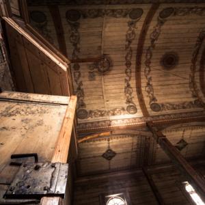 Kościół w Kramarzewie, interior of the polish church, Maciej Nowakowski