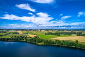 Jezioro Szelment z lotu ptaka, Maciej Nowakowski